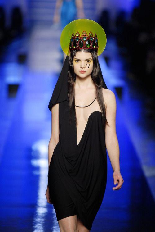 lelaid:  Patricia Schmidt at Jean Paul Gaultier Haute Couture...