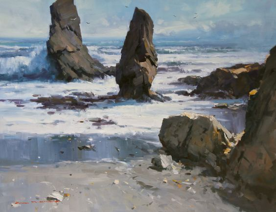 Painting Gallery - John Crump, Painter in Paradise