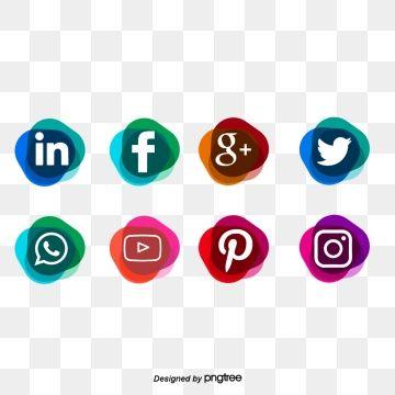 Social Media Icons Png Vector Psd And Clipart With Transparent Background For Free Download Pngtree Social Media Icons Instagram Logo Media Icon