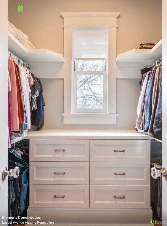 walk in closet closet ideas and walk in on pinterest. Black Bedroom Furniture Sets. Home Design Ideas