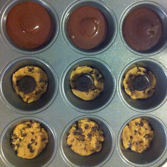 Cookie dough..Oreo cookie/Reese's..brownie mix! Yummy!!