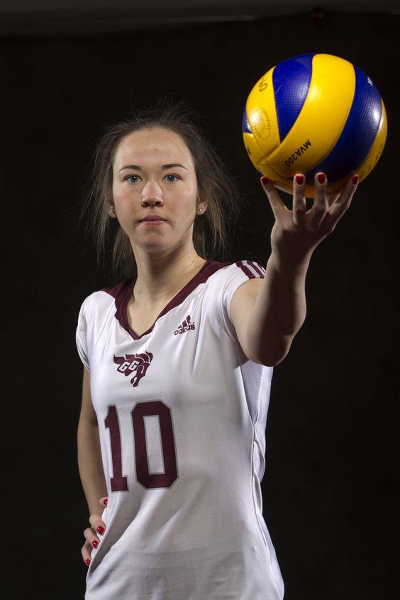 #10 Karina Krueger Schwanke - Joueuse par excellence, volleyball féminin/Volleyball MVP 2011-2012