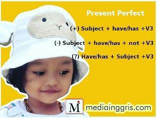 Present Perfect Tense Latihan Materi Bahasa Inggris Materi Bahasa
