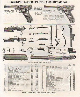 Artillery Luger Parts - Wehrmacht-Awards.com Militaria Forums