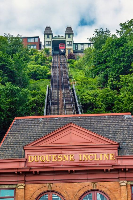 Duquesne Incline, Pittsburgh. Been there, done that! Really neat! - I have been here too, and if I am correct, when we lived in Pittsburgh there was a really great Lebanese Restaurant we went to up at the top.