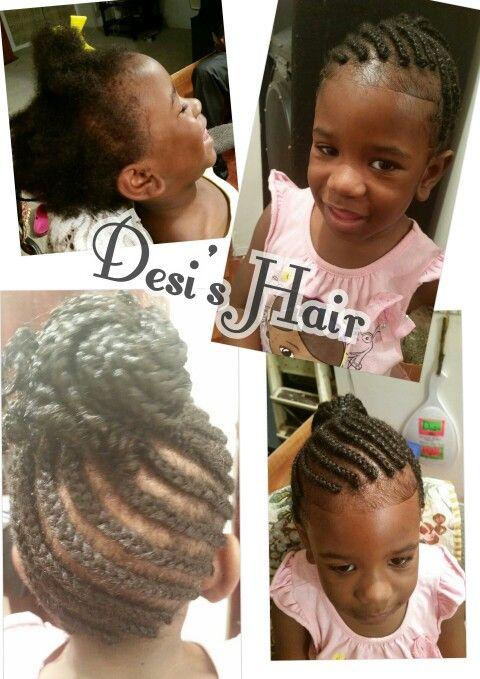 Desi's Hair Braided Updo