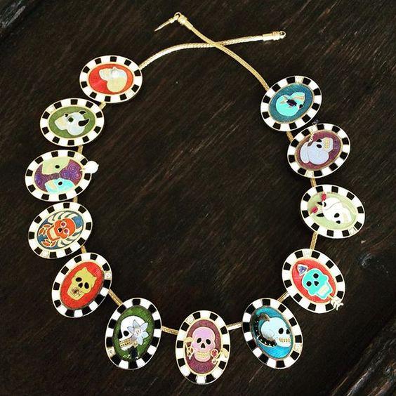 Holly Dyment Jewelry via Instagram - Zodiac Necklace