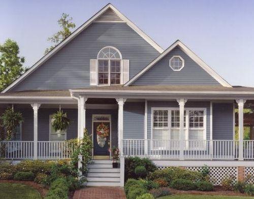 Grey Blue and White Exterior Colour Scheme | PaintRight Colac House  Exterior Colours | Pinterest | Exterior colors, House colors and Window  awnings