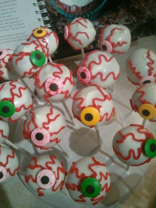 Eyeball cakepop