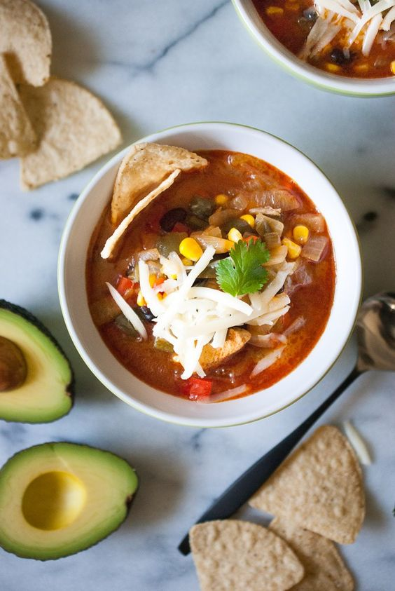 Southwest Chicken Soup   life is but a dish