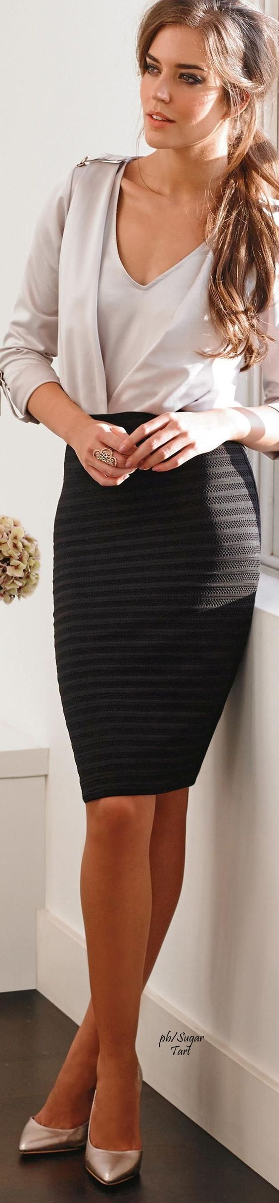 Awesome skirt. The look and fit are both perfect.