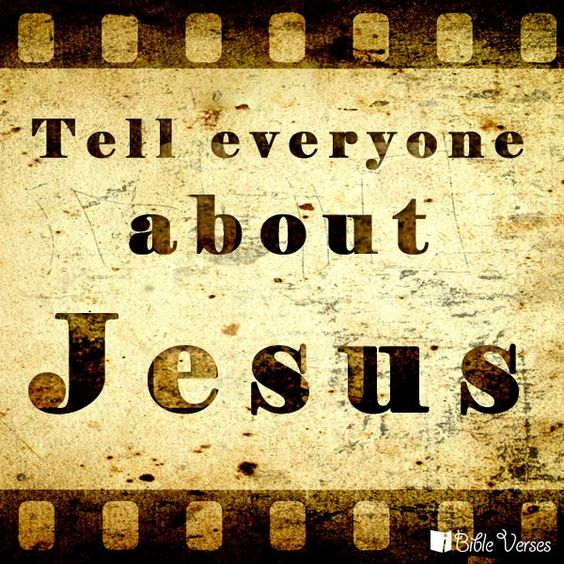 """He said to them, """"Go into all the world and preach the good news to all creation."""" - Mark 16:15"""