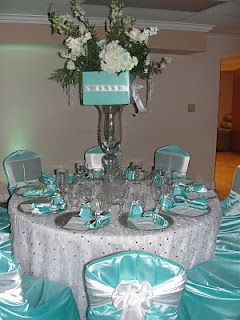 The Amazing Candy Buffets and Fun Food Designers of Sugar Bunch Creations: A Houston Quinceanera Party that was Glamorous & Sweet all in One.. Tiffany Blue & White Quince for Mis Emy!