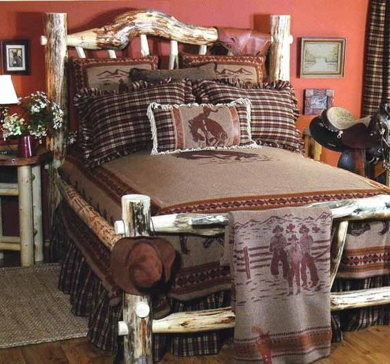 Cowboy bedding western bedding ranch style bedding for Country western bedroom ideas