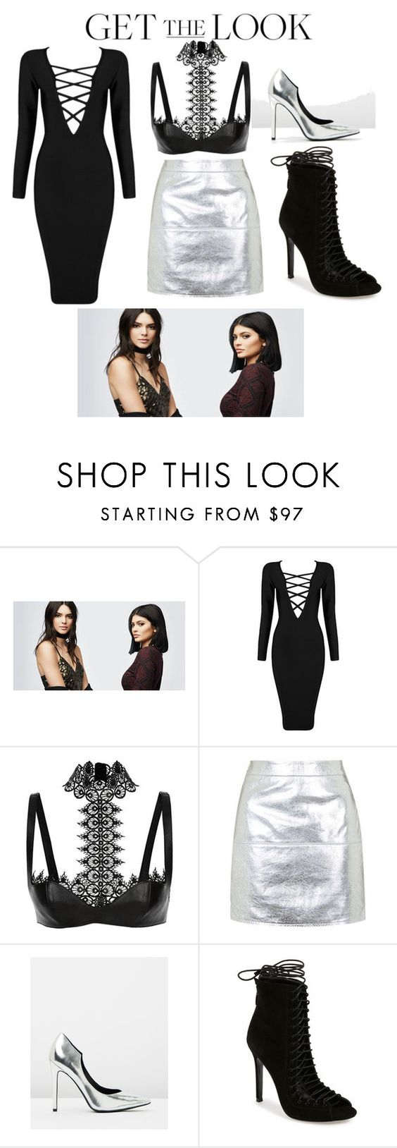 """""""jenner sisters inspired"""" by anzabiee ❤ liked on Polyvore featuring PacSun, Posh Girl, Alexander McQueen, Topshop, Kendall + Kylie, GetTheLook and celebritysiblings"""