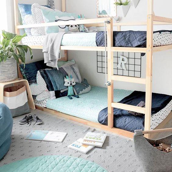 łóżko piętrowe dla rodzeństwa