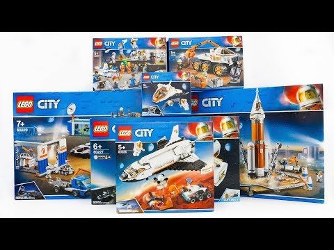 All Lego City Space Compilation 2019 Speed Build Youtube In 2020 Lego City Space Lego City All Lego