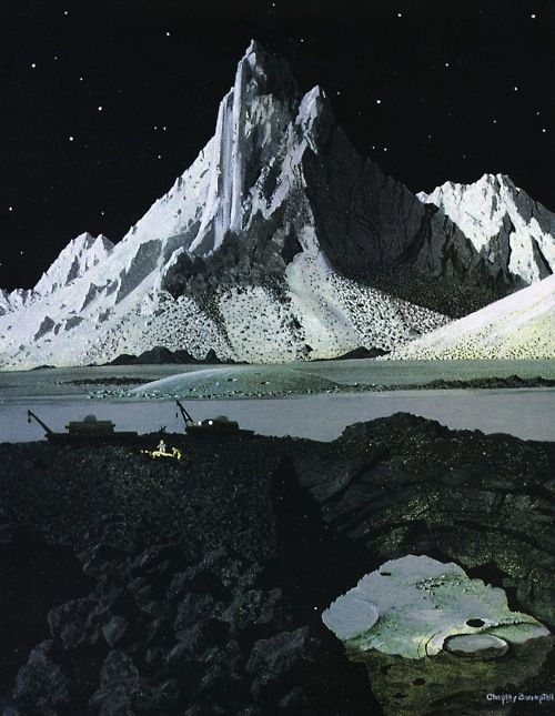 Tomorrow And Beyond, Chesley Bonestell...