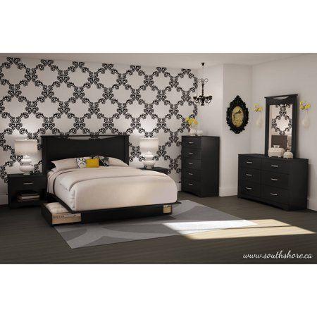 Home Platform Bed With Drawers Bedroom Sets 5 Piece Bedroom Set