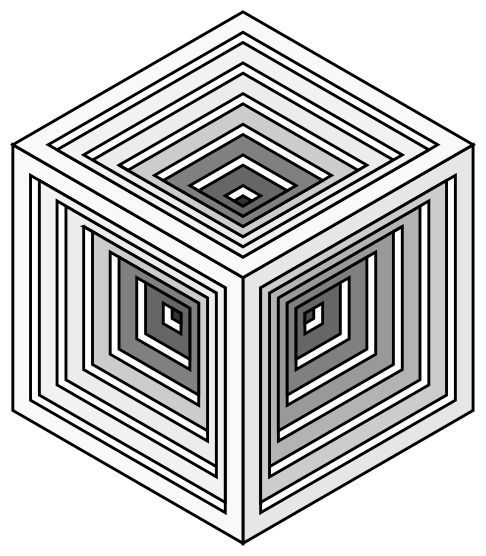 Engraved Cube Clip Art Image Clipsafari Art Images Clip Art Art