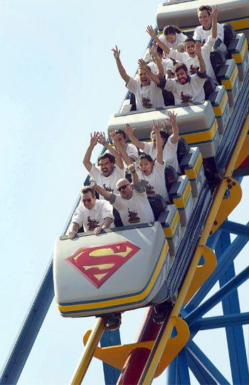 Superman Six Flags, Ciudad de México