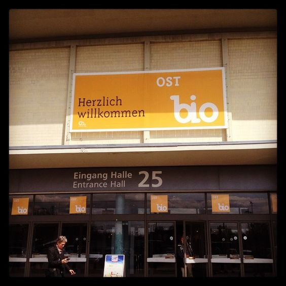 Because #bio is important to us we've spent the day at #bioost #berlin today! #organic