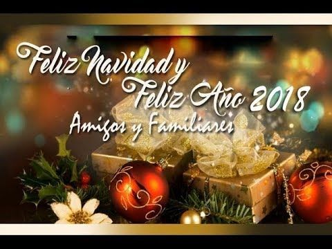 Feliz Navidad 2017 Y Prospero Año 2018 Mensajes De Navidad