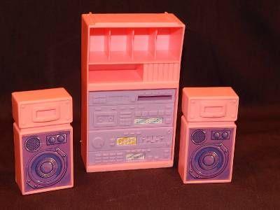 Mattel Barbie Dollhouse Furniture | ... Playskool Little Tikes Mattel Barbie DollHouse Furniture Food Family