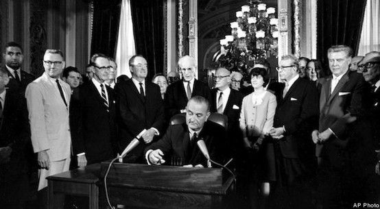 President Lyndon Johnson called for equal voting rights | March 15, 1965