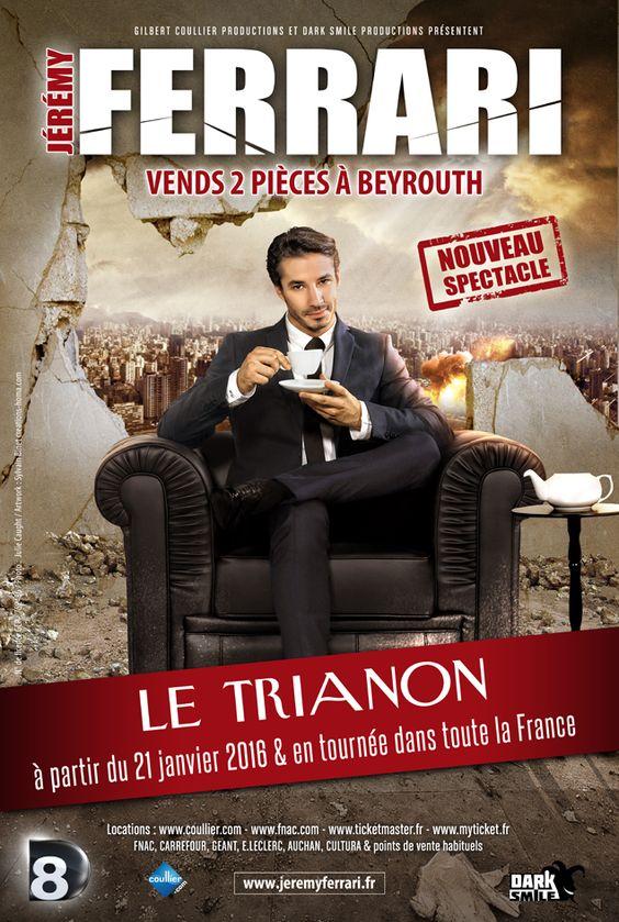 We both like Jérémy Ferrari, I hope we'll go see together his new show !