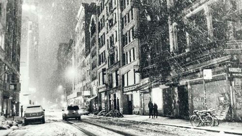 New York City - Covered in icing sugar  Cant wait...