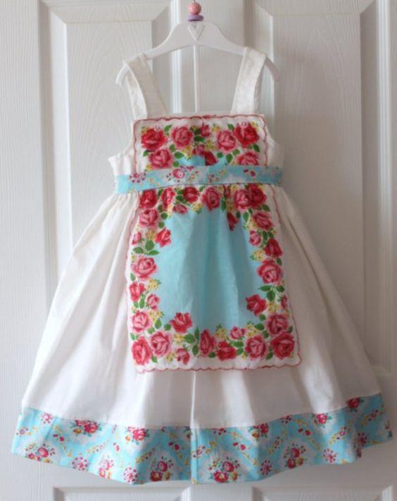 Eden's Apron Style Hankie Dress