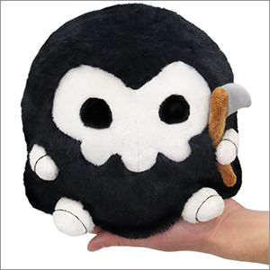 mini squishable grim reaper
