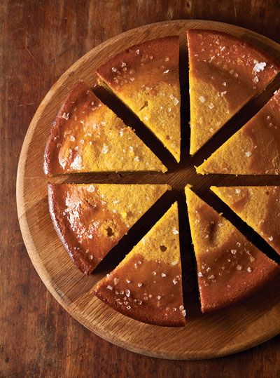 Orange-Scented Olive Oil Cake uses preserved oranges you can easily make yourself along with orange juice.