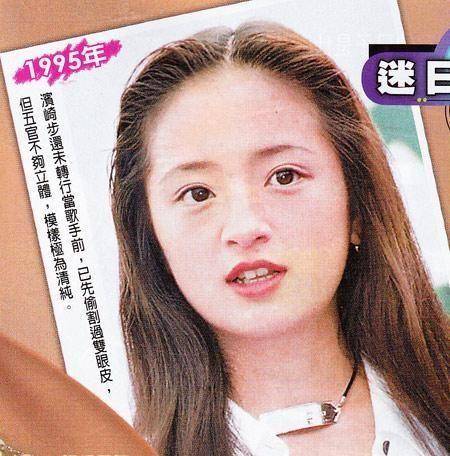 デビュー当時の浜崎あゆみ