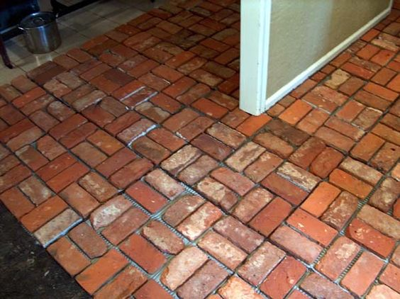 How To Clean Interior Brick Floors Home Pinterest