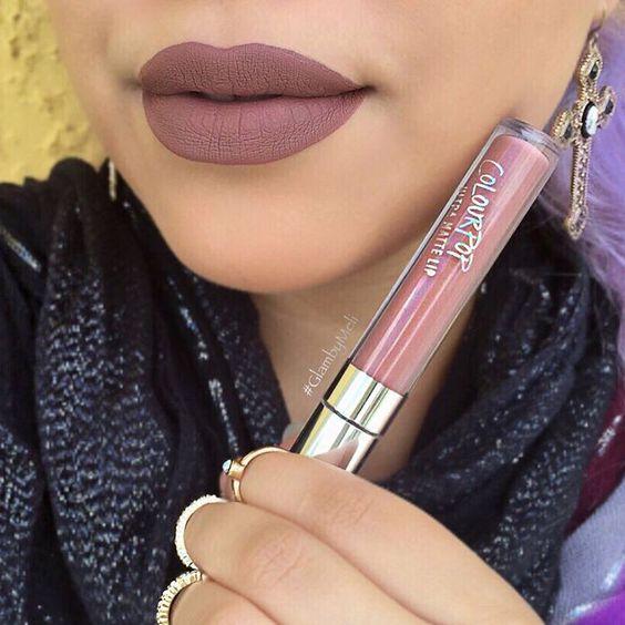 ColourPop Cosmetics @colourpopcosmetics Ultra matte liquid lipsticks ($6) in Beeper #lip #makeup #lipstick