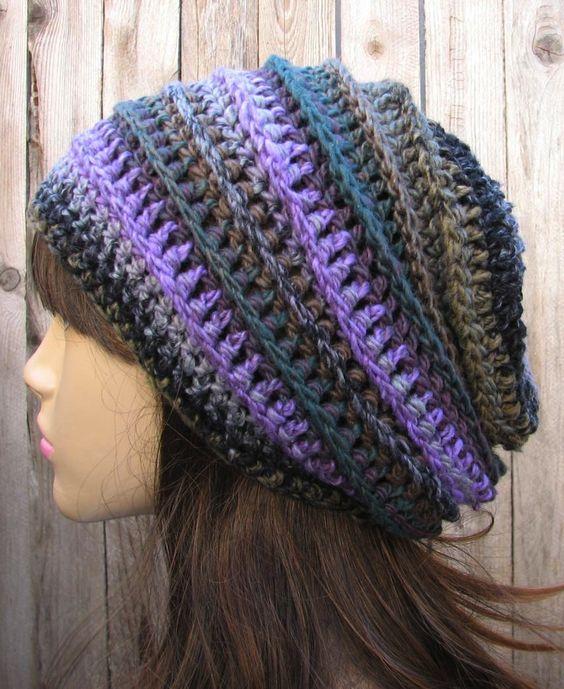 crochet pattern beanie | try this | Pinterest | Sombrero desgarbado ...