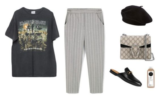 """""""Effortless"""" by marfastudios ❤ liked on Polyvore featuring Gucci, MANGO and Brandy Melville"""