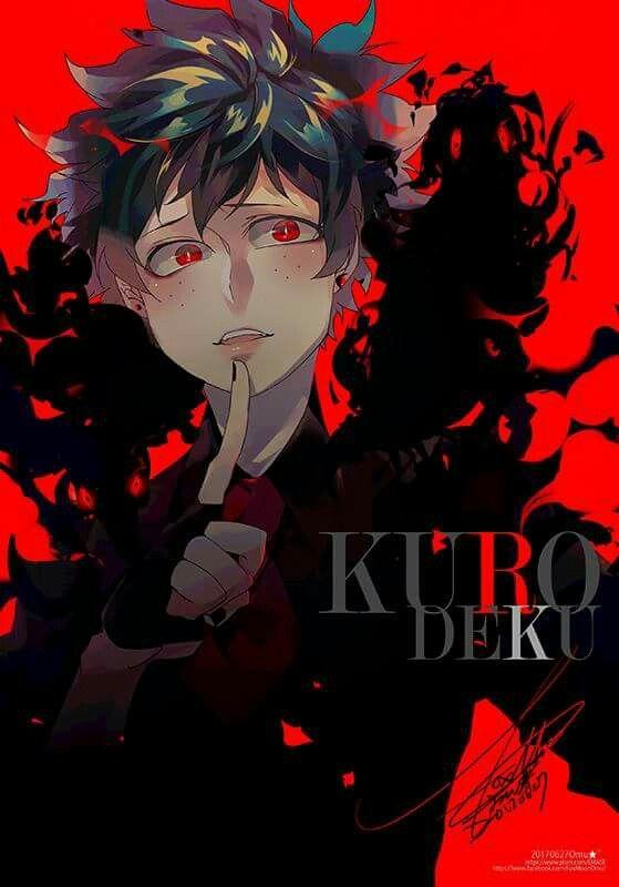 Villain Deku Black Deku I M Not Who I Used To Be Villain Deku Hero Academia Characters Villain