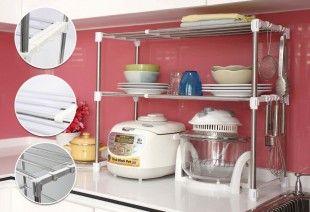 Microwave Kitchen Shelf