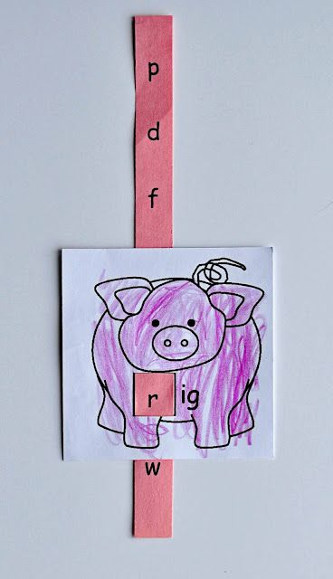 Awesome! Rhyming practice that is fun   Craft project   Pinterest ...