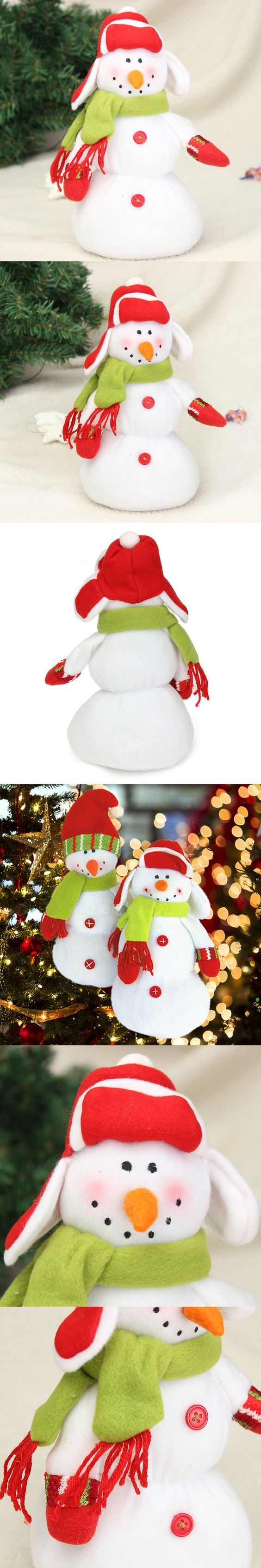 New Stylish Best Price Two Styles Christmas Snowman Doll for Xmas Patry Tree Decoration Home Shopping Mall Christmas Gift $7.43
