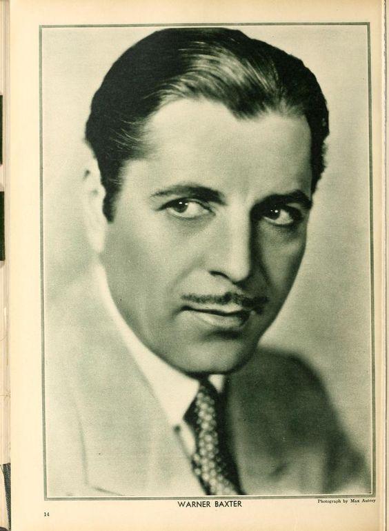 Warner Baxter (1889-1951)