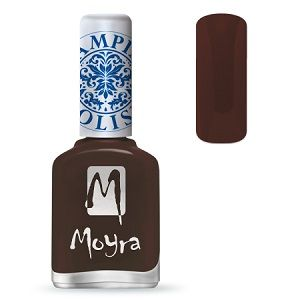 COMING SOON Moyra Stamping Nail Polish- No. 13 (Dark Brown)