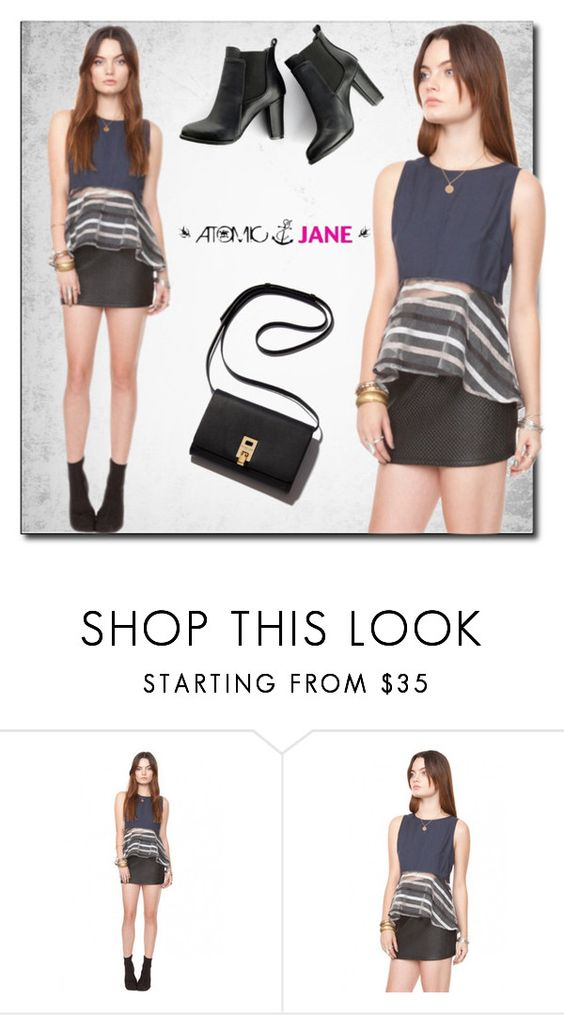 """Atomic Jane"" by atomic-jane ❤ liked on Polyvore featuring moda, SWEET MANGO e atomicjane"