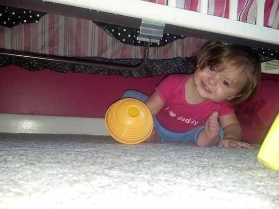 Stuck under the bed