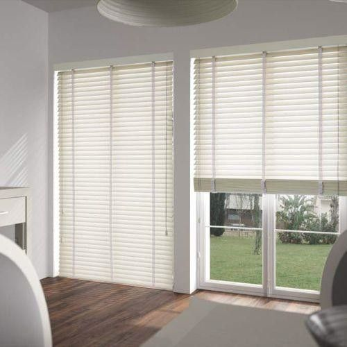 Antique White Wooden Venetian Blinds With Tapes: Https