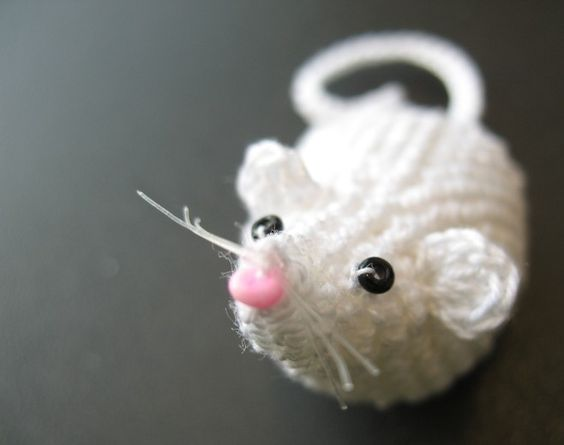 Amigurumi Rat : Amigurumi crochet rat kalulu for