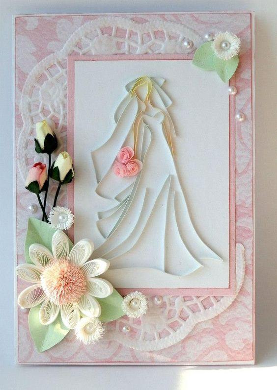 Quilling: Wedding Card | BRIDAL | Pinterest | Beautiful, Filigrana ...
